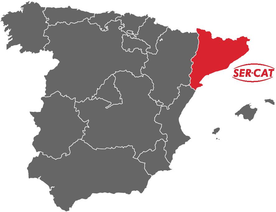 mapa servicios sercat
